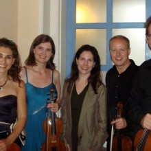 july 11 post-concert pic with the Carducci Quartet