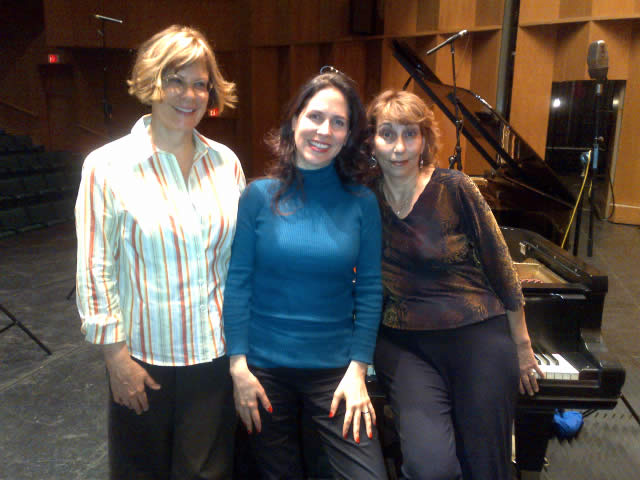 Recording 'of Risk and Memory' with the piano duo Quattro Mani