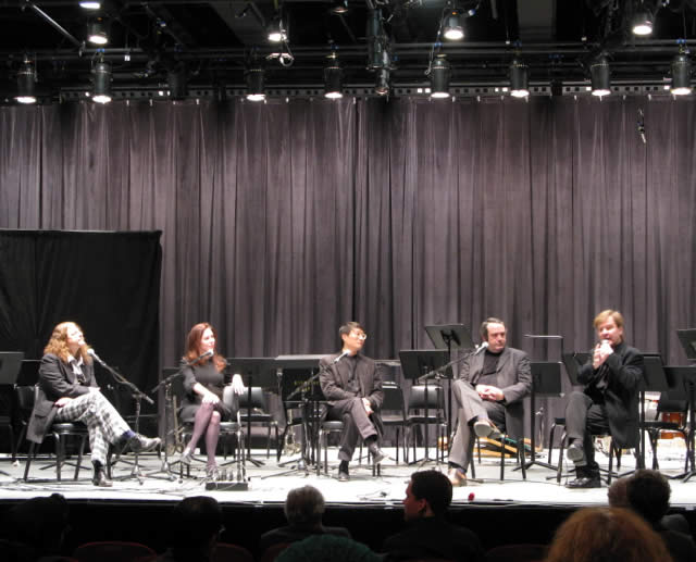 New York Philharmonic inaugural 'Contact!' post-concert panel, with Magnus Lindberg