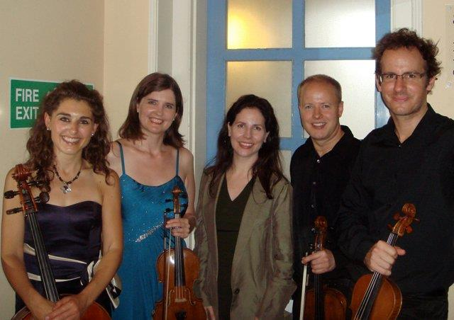 UK premiere of 'Insects in Amber' with the Carducci Quartet, Cheltenham